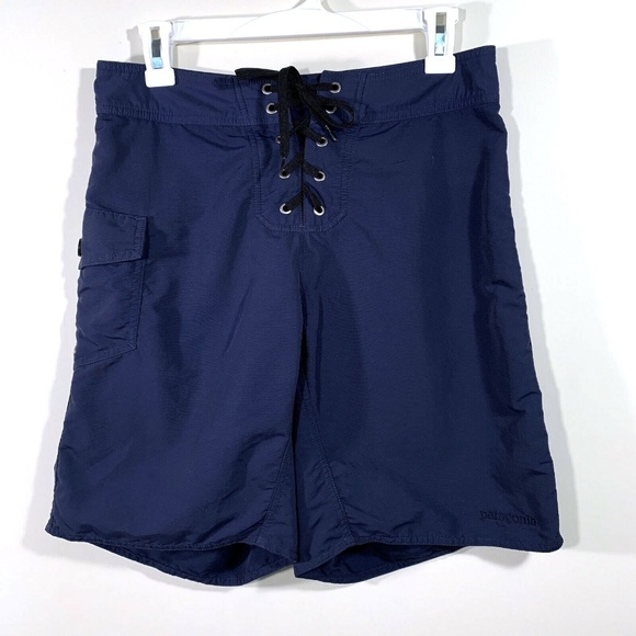 Patagonia Other - Patagonia | Navy Blue Tie Front Board Shorts